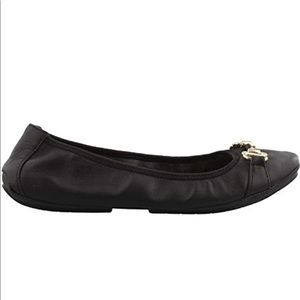 Me Too Leather Limbo Ballet Flat Shoes, sz 7.5M